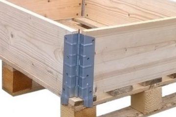leseni palete in okvirji